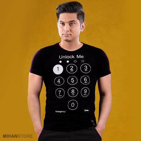 تیشرت مردانه آنلاک می Unlock Me