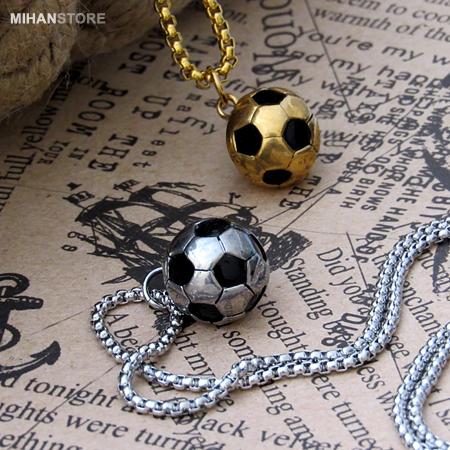 گردنبند اسپرت طرح توپ فوتبال