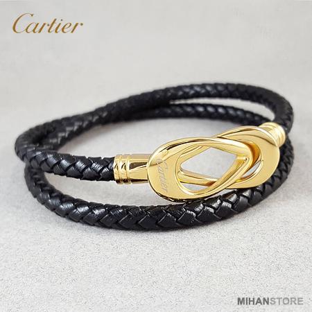دستبند چرم کارتیر Cartier