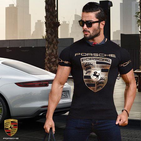 تیشرت مردانه پورشه Porsche