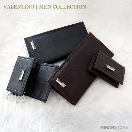 ست مردانه کیف کمربند جاکلیدی امیلیو والنتینو Emilio Valentino
