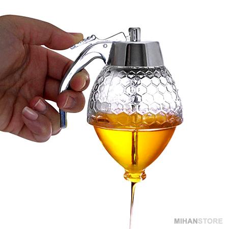 ظرف عسل ریز Honey Pot Dispenser