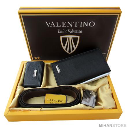 ست کیف کمربند جاکلیدی Emilio Valentino