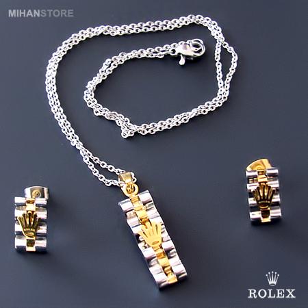 نیم ست دخترانه برند Rolex